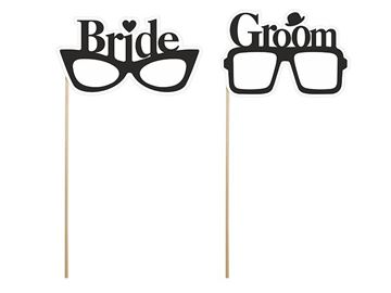 Fotosticks Bride & Groom briller